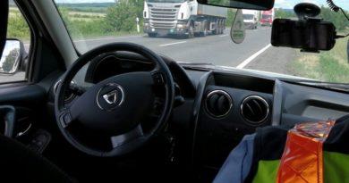 Zsaru Car ellenőrzés Szentlőrincen