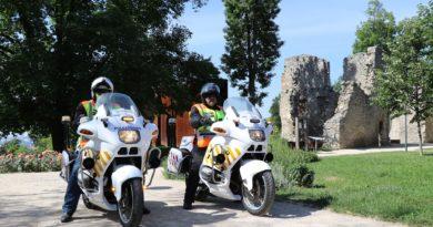 Motoros polgárőrök Baranyában