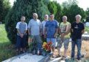 Csőkör Lajosra emlékeztek a Pécs-Hirdi polgárőrök
