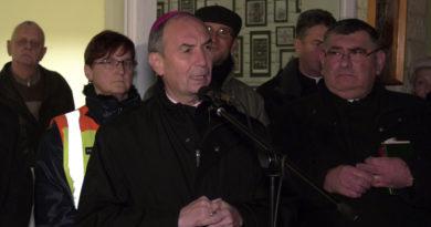 Egyházi rendezvényt biztosított Pécsen a Kertvárosi Polgárőr Egyesület