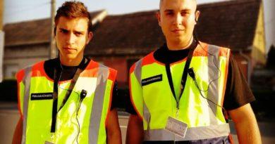 Lángoló kéményre lettek figyelmesek a Vajszlói polgárőrök