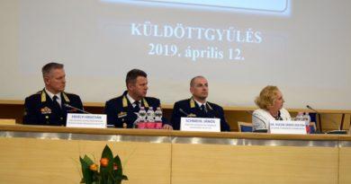 Rend, fegyelem és tisztesség van az Országos Polgárőr Szövetségben