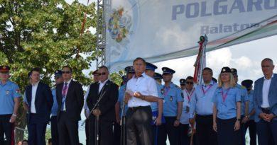 XXV. Országos Polgárőr Nap Balatonföldváron