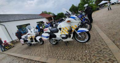 Motoros polgárőrök az akadálymentes napon
