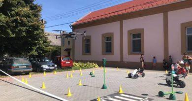 Szárnyas falunap rendezvény polgárőr biztosítással Vokányban